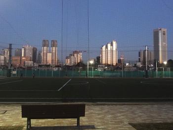 夕陽に輝くパークタワー41-343.jpg