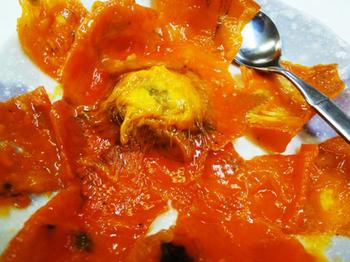 熟しすぎた甘柿*32-389.8.jpg